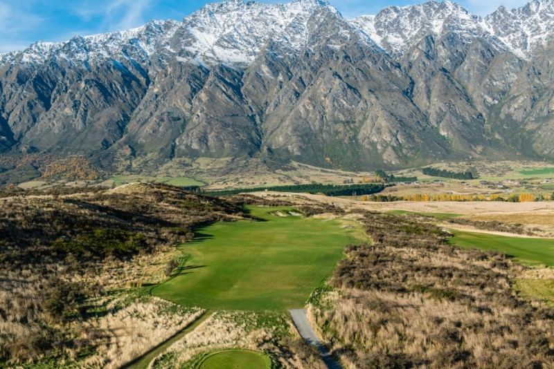Jacks Point Golf Course, Queenstown, NZ